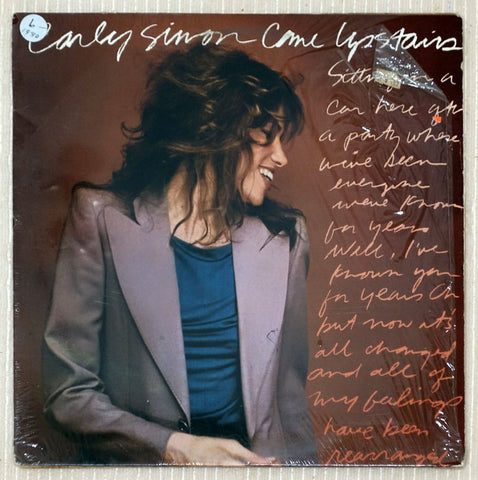 Carly Simon Vinyl Record Come Upstairs
