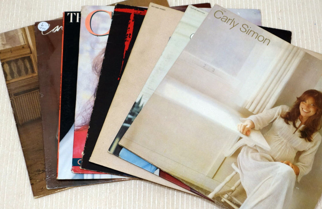 Carly Simon Vinyl Record Collection