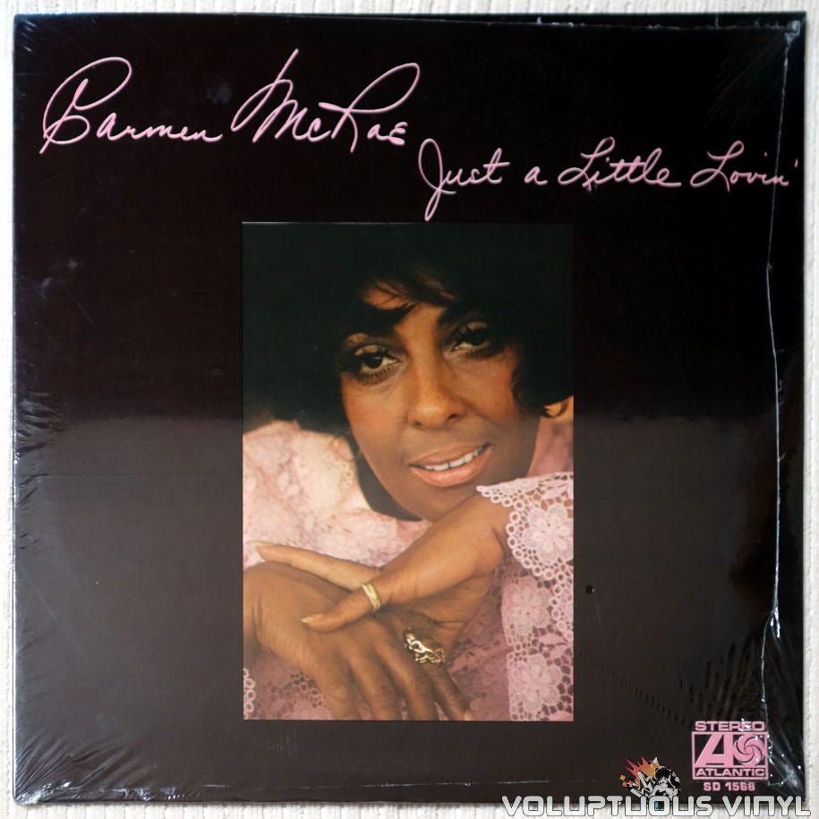 Carmen McRae ‎– Just A Little Lovin' - Vinyl Record - Front Cover