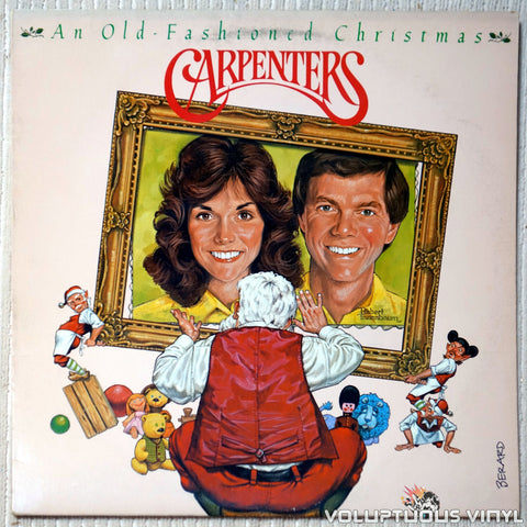 Carpenters ‎– An Old-Fashioned Christmas vinyl record front cover