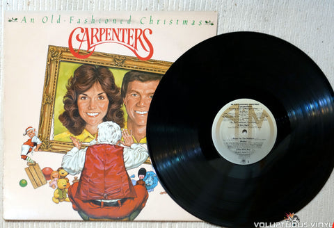 Carpenters ‎– An Old-Fashioned Christmas vinyl record