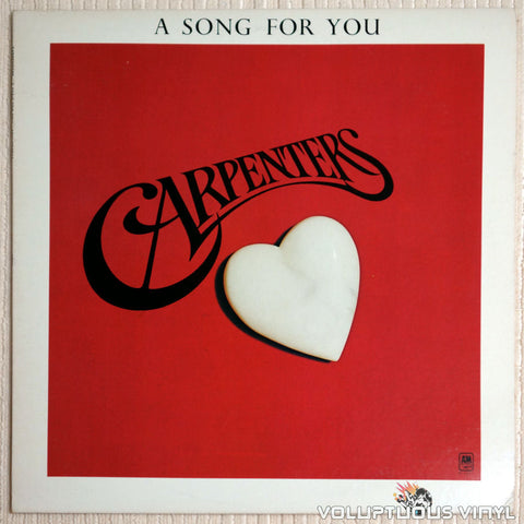 Carpenters ‎– A Song For You (1972)