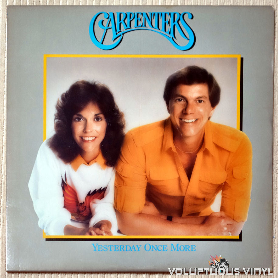 Carpenters ‎– Yesterday Once More - Vinyl Record - Front Cover