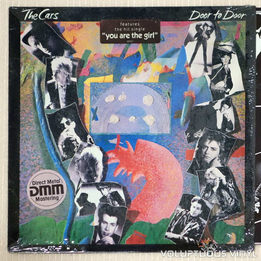 The Cars ‎– Door To Door - Vinyl Record