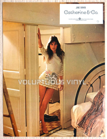 Catherine & Co. - German Lobby Card - Sexy Jane Birkin
