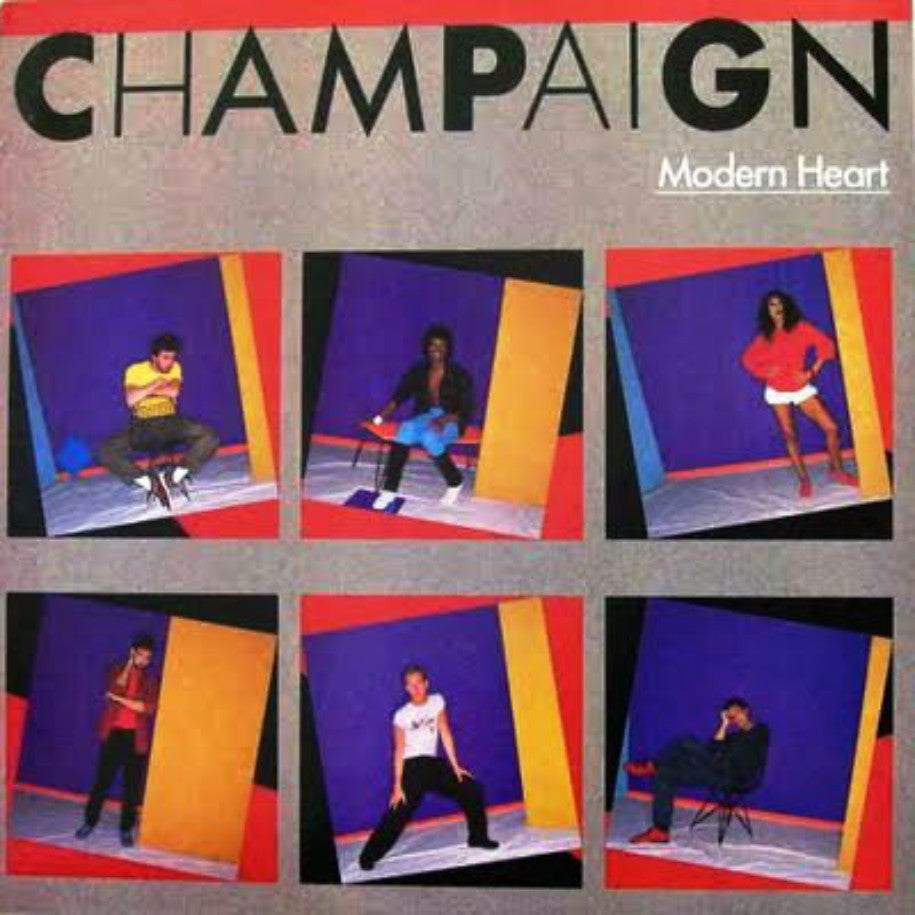 Champaign ‎– Modern Heart - Vinyl Record - Front Cover