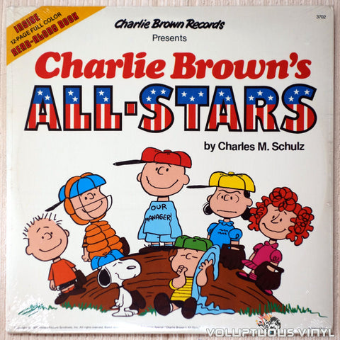 Charles M. Schulz ‎– Charlie Brown's All-Stars - Vinyl - Front Cover