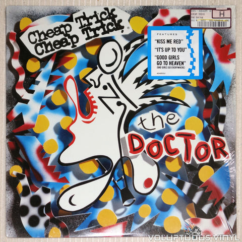 Cheap Trick ‎– The Doctor - Vinyl Record - Front Cover