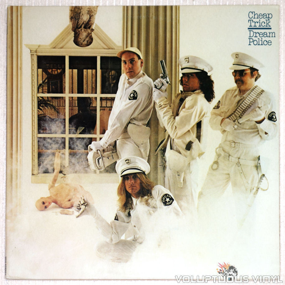 Cheap Trick ‎– Dream Police - Vinyl Record - Front Cover