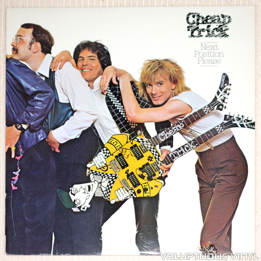 Cheap Trick ‎– Next Position Please - Vinyl Record - Front Cover