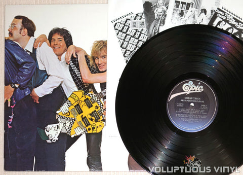 Cheap Trick ‎– Next Position Please - Vinyl Record