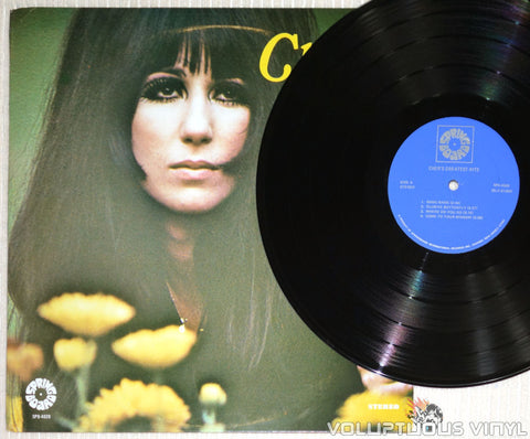 Cher ‎– Cher's Greatest Hits - Vinyl Record