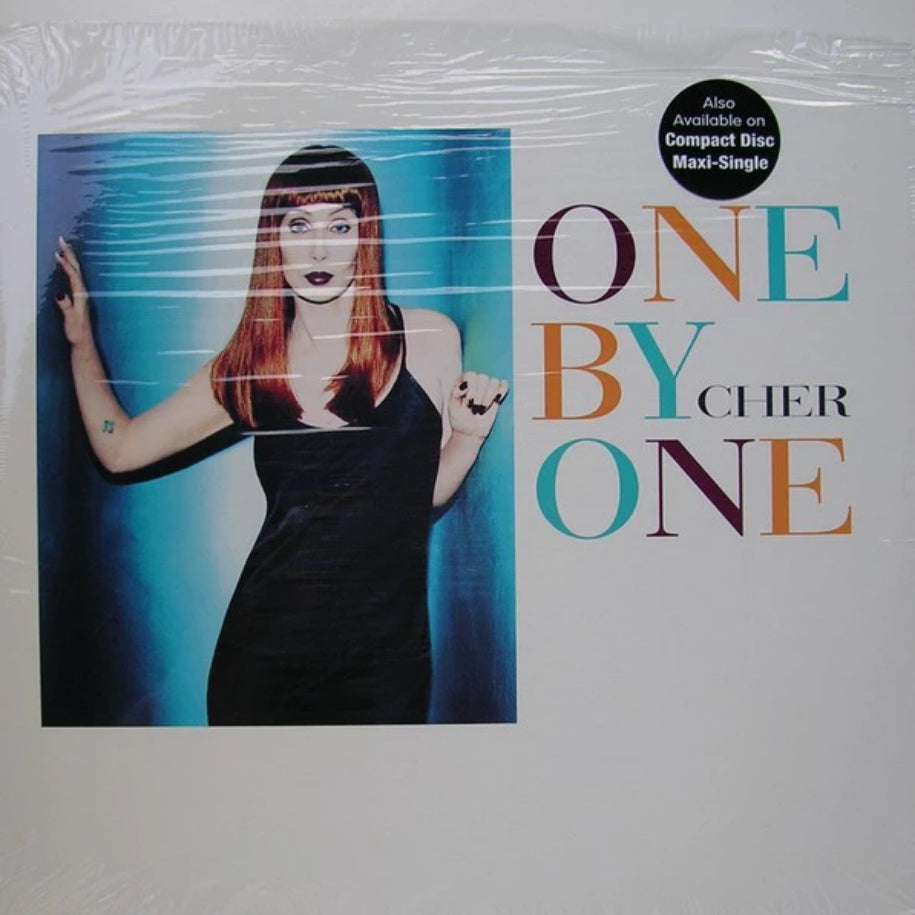 Cher ‎– One By One vinyl record front cover