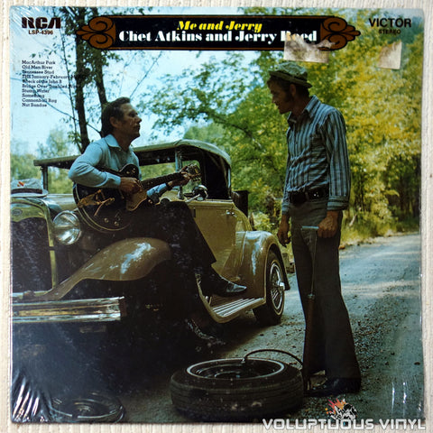 Chet Atkins And Jerry Reed ‎– Me And Jerry vinyl record front cover
