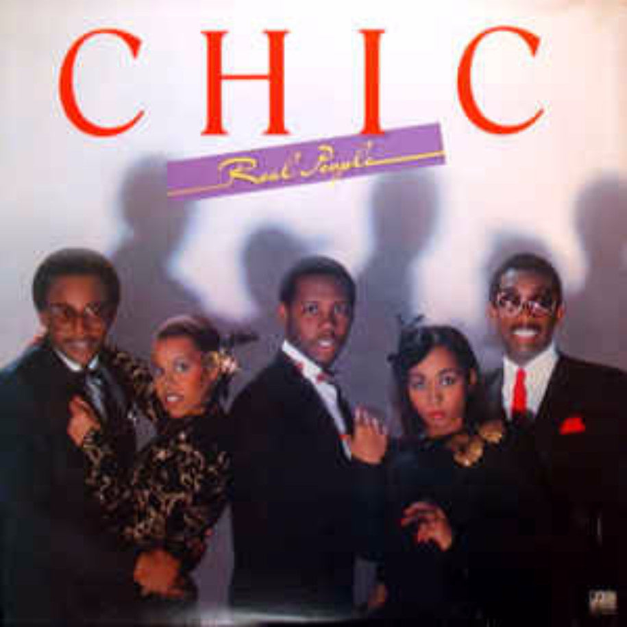 Chic ‎– Real People - Vinyl Record - Front Cover