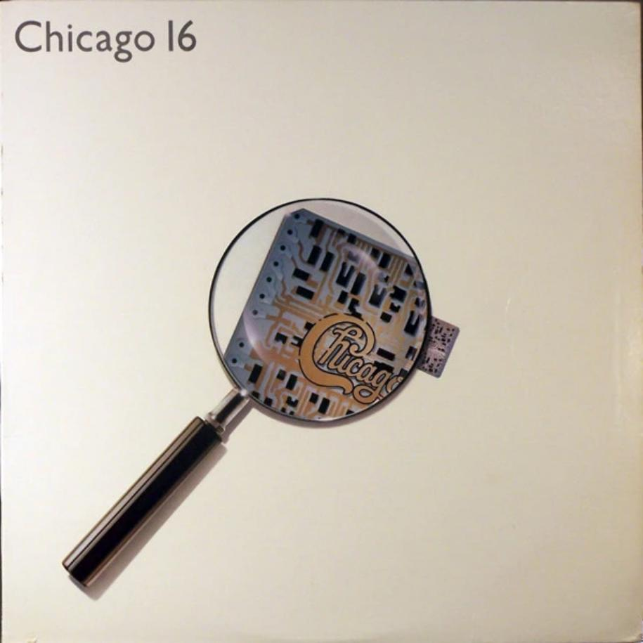 Chicago ‎– Chicago 16 vinyl record front cover