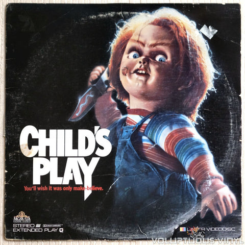 Child's Play - LaserDisc - Front Cover