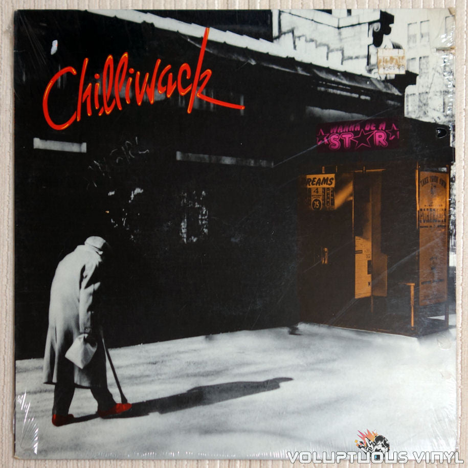 Chilliwack ‎– Wanna Be A Star - Vinyl Record - Front Cover