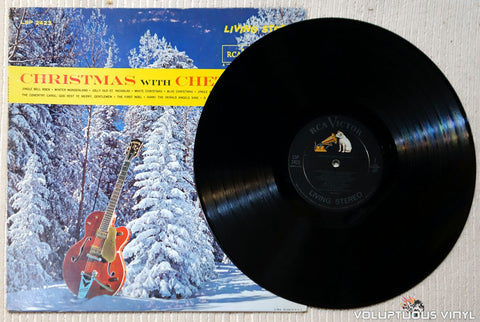Chet Atkins ‎– Christmas With Chet Atkins vinyl record
