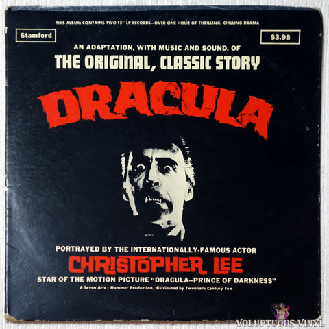 Christopher Lee ‎– Dracula - The Original Classic Story (?) 2xLP