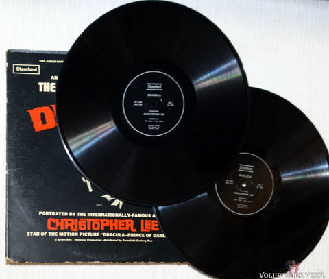 Christopher Lee ‎– Dracula - The Original Classic Story vinyl record