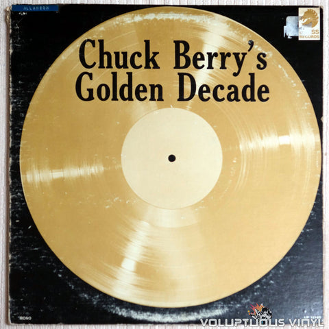 Chuck Berry ‎– Chuck Berry's Golden Decade - Vinyl Record - Front Cover