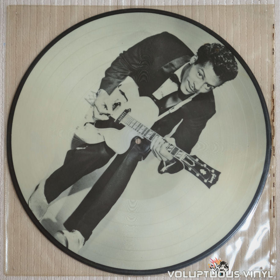 Chuck Berry Picture Disc - Vinyl Record - Side A