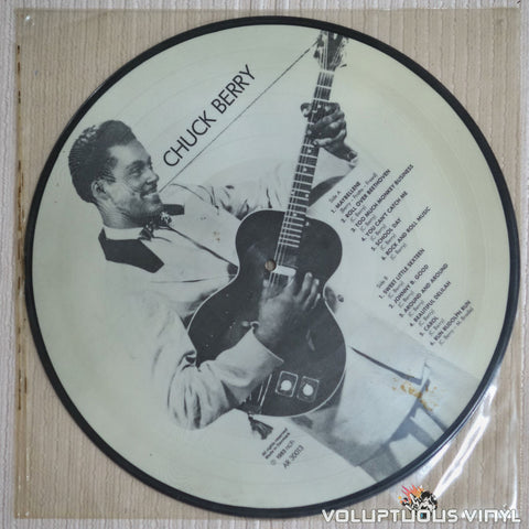 Chuck Berry Picture Disc - Vinyl Record - Side B