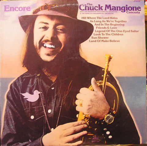 Chuck Mangione ‎– Encore - The Chuck Mangione Concerts (1975) Cheap Vinyl Record