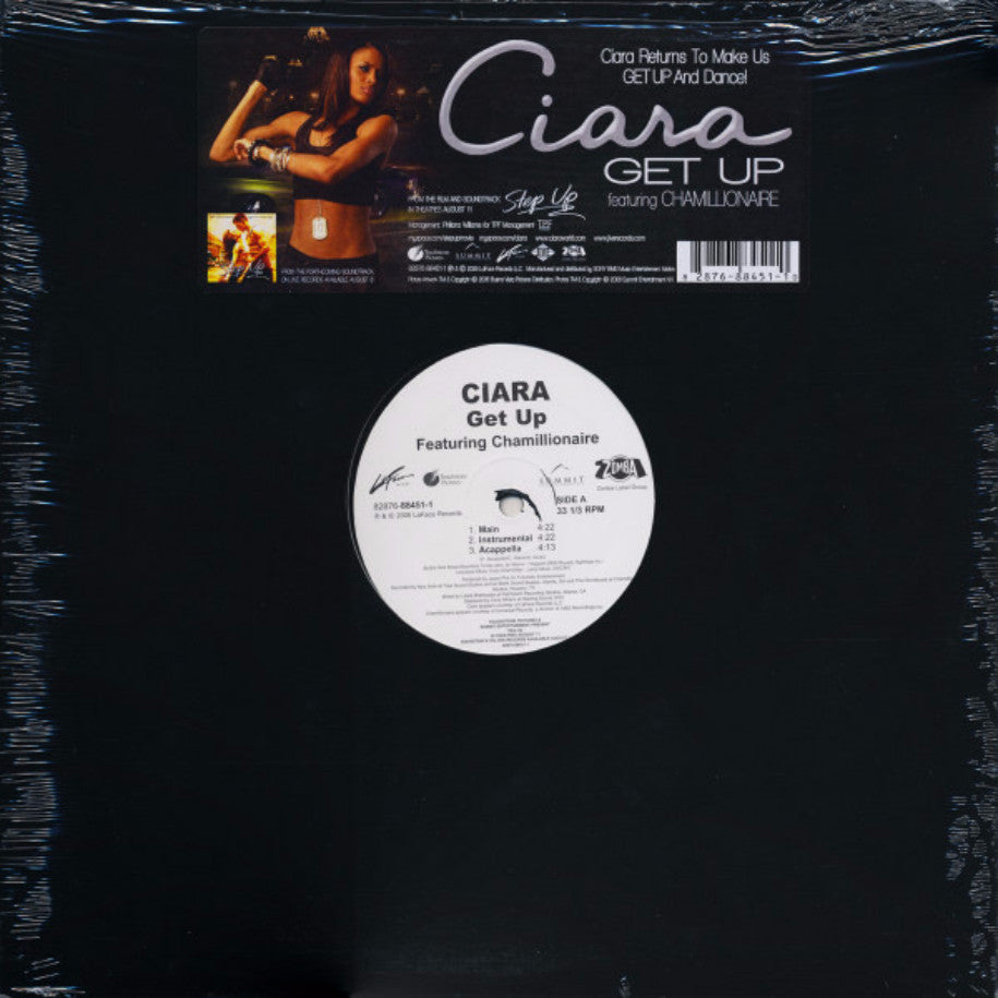 Ciara Featuring Chamillionaire ‎– Get Up - Vinyl Record - Front Cover