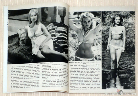 Cine Revue Barbara Bouchet Sweet Charity, Miss Money Penny, Bikini
