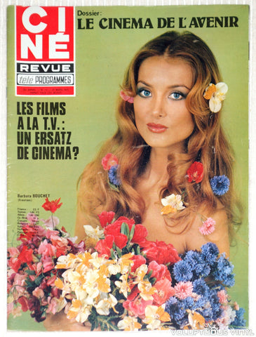 Cine Revue Tele Programmes - Issue 13 March 27, 1975 - Barbara Bouchet Cover