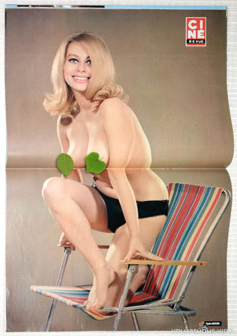 Cine Revue Tele Programmes - Issue 13 March 27, 1975 - Ruth Moor Nude Centerfold