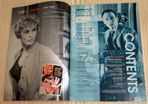 Cinema Retro Issue #1 - January 2005 - Steve McQueen - Table of Contents