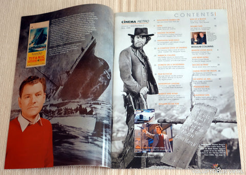 Cinema Retro Issue #2 - May 2005 - Clint Eastwood - Table of Contents