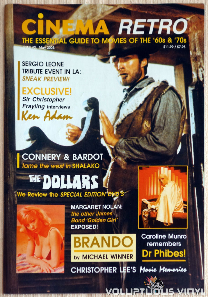Cinema Retro Issue #2 - May 2005 - Clint Eastwood - Front Cover