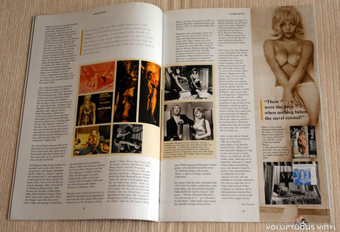 Cinema Retro Issue #2 - May 2005 - Margaret Nolan Nude