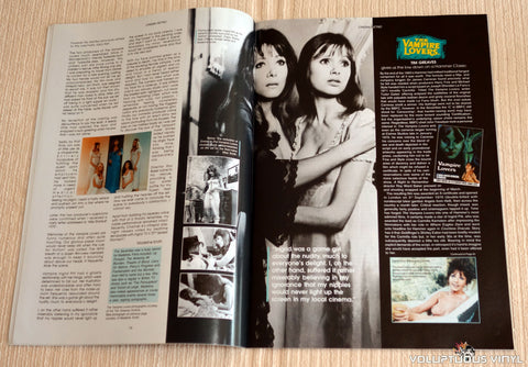 Cinema Retro Issue #3 - September 2005 - Madeline Smith Vampire Lovers
