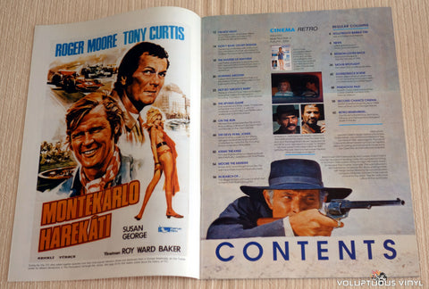 Cinema Retro Issue #6 - September 2006 - Barbara Bouchet - Table of Contents