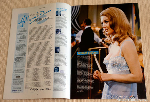 Cinema Retro Issue #6 - September 2006 - Barbara Bouchet