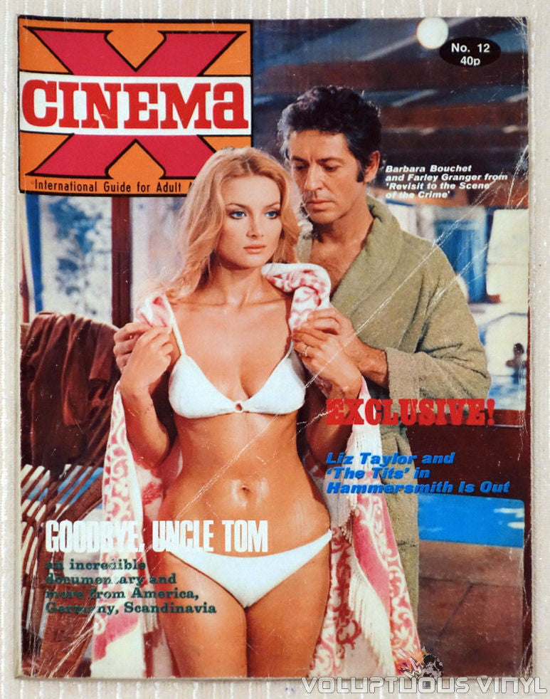 Cinema X Magazine Barbara Bouchet Front Cover From Film Amuck!