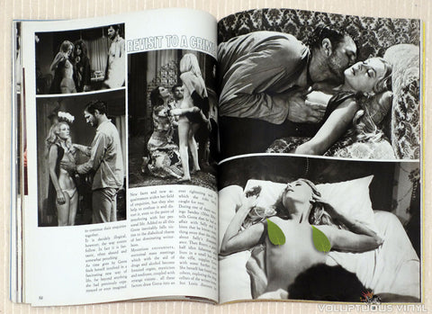 Cinema X Magazine Barbara Bouchet Topless in film Amuck!
