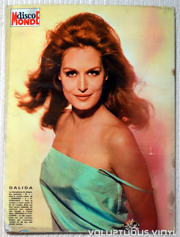 Cinémonde - February 22, 1966 - Dalida Back Cover