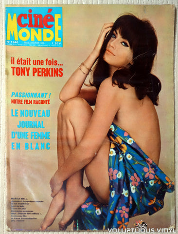Cinémonde - February 22, 1966 - Marisa Mell Front Cover