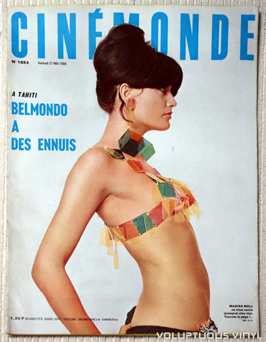 Cinémonde Magazine - May 27, 1966 - Marisa Mell Cover