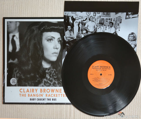 Clairy Browne & The Bangin' Rackettes ‎– Baby Caught The Bus - Vinyl Record