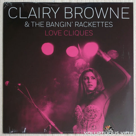 Clairy Browne & The Bangin' Rackettes ‎– Love Cliques - Vinyl Record - Front Cover