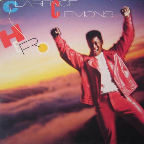Clarence Clemons ‎– Hero vinyl record front cover