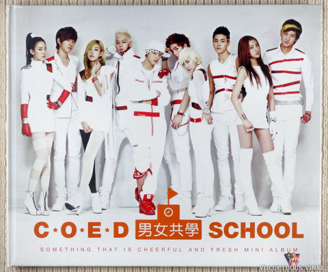 Coed School ‎– Something That Is Cheerful And Fresh CD front cover
