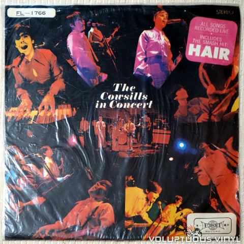 The Cowsills ‎– The Cowsills In Concert - Vinyl Record - Front Cover